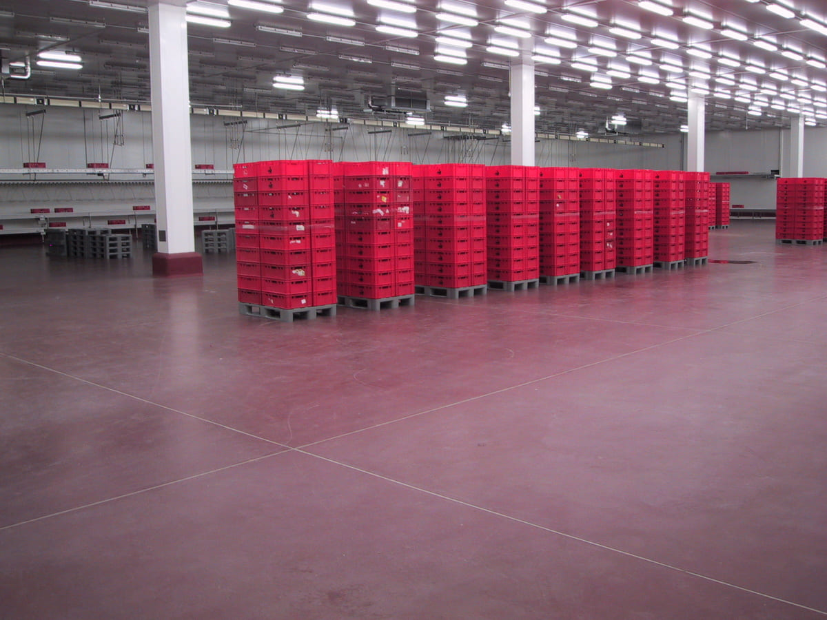 Podlahy pro Potravinářský Průmysl